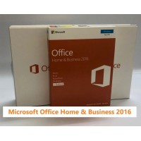 Microsoft Office Home and Business 2016 for Windows 7,8,10 (32Bit/64Bit) with Media DVD Format (Word, Excel, PowerPoint, OneNote, Outlook 2016) for 1 PC