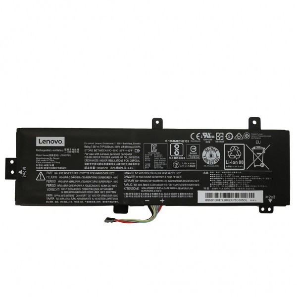 Genuine Battery for Lenovo 310-15ABR, 310-15IAP, 310-15IKB, 310-15ISK, 510-15IKB, 510-15ISK Laptop | 5B10K87720, L15m2pb5