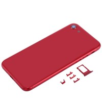 Outer Housing for iPhone 8 | Red with SIM card holders and side button | New