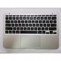 Palmrest Keyboard US + Speakers + TrackPad for MacBook Air A1370 Mid 2011 069-7004-A Used