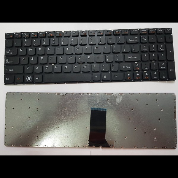 Keyboard for Lenovo Ideapad B5400 M5400 Series Notebooks US Layout Black Color / Without Frame