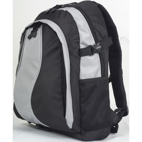LE SAC CHIC BACKPACK Silver & Black