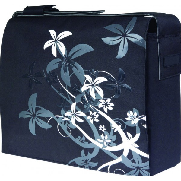 LE SAC CHIC FLORAL BAG Black & White