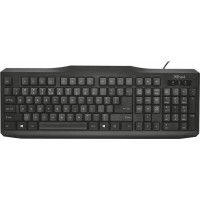 Trust Keyboard Classicline GR  | QWERTY | 20630 | 1 Year Warranty