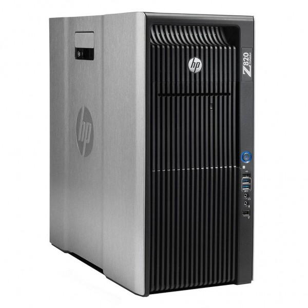 HP Z820 Workstation | Intel Xeon E5-2687W v2 + Intel Xeon E5-2687W v2 CPUs | 32GB RAM | 240GB SSD + 240GB SSD | Nvidia Quadro K5000 4GB | Windows 10 Pro | Refurbished Grade A | 1 Year Warranty