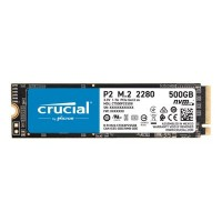 Crucial P2 - solid state drive - 500 GB - PCI Express 3.0 x4 (NVMe)- CT500P2SSD8