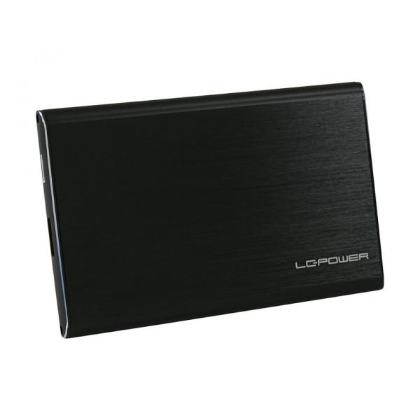 "LC Power LC-25U3-7B-ALU Storage Enclosure | 2.5"" | SATA 6Gb/s | USB 3.0 | Black | LC-25U3-7B-ALU"