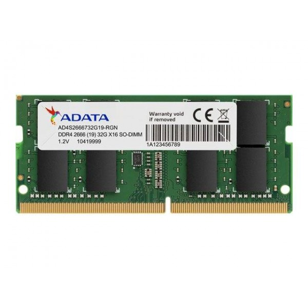 ADATA Premier Series 8GB DDR4 2666MHz Memory SO-DIMM 260-PIN for Notebooks unbuffered | AD4S266638G19-R | Lifetime Warranty
