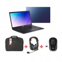 Asus Laptop - Wireless Mouse - Headphones - Carry bag