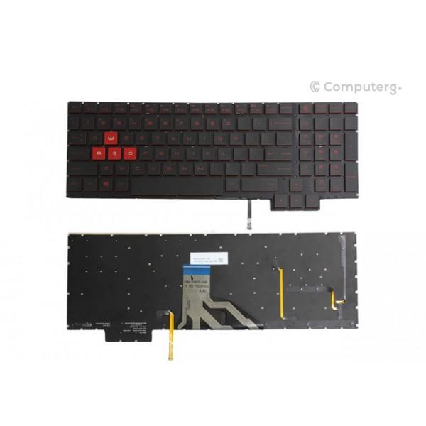 keyboard for HP Omen 15-CE - US Layout - Backlight - 1-Year Warranty